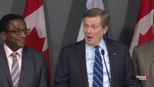 John Tory applauds 'very substantial' transit investment from province