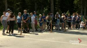 'It's a lot of waiting in line': long waits greet tourists going to Lake Louise