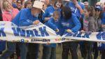Autism Speaks walk in Saskatoon