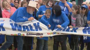 Autism Speaks walk in Saskatoon