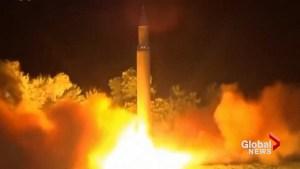 North Korean missile passes over northern Japan