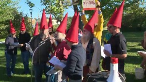 Rural rally against high costs of Hydro One