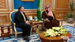 Pompeo returns to Saudi Arabia to discuss Khashoggi murder