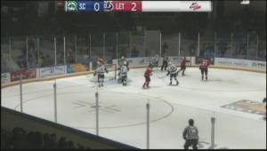 Lethbridge Hurricanes thump Broncos 7-2 in road win (01:41)