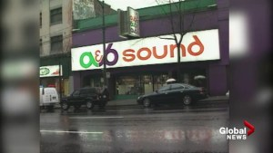 A & B Sound applies for bankruptcy protection