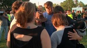 Vigil held in Texas for victims of Santa Fe High School shooting