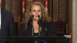 Payette touts Canada's core values: tolerance, openness, co-operation