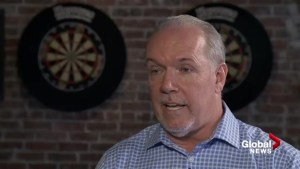 John Horgan on the big issues facing the next election