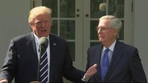 Trump completely reverses tone on Mitch McConnell, says he's the one to help pass his agenda