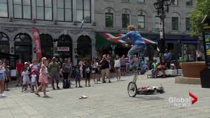 Some Montreal street entertainers upset with City rules