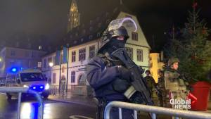 Gunman kills at least 2, wounds 12 in French Christmas market (02:04)