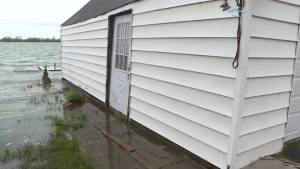 Wolfe Island residents now battling flooding issues