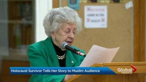 'It's a story that needs to be told': Jewish Holocaust survivor addresses Muslims