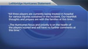 Hockey Players Injured
