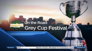 Global News at 5 Edmonton live from the Grey Cup Festival: Nov. 22