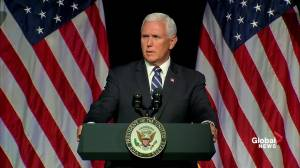 Pence says other countries trying to disrupt U.S. in space