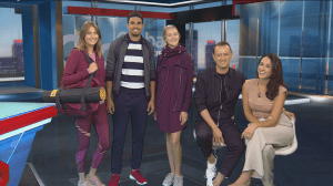 Popular athleisure trends with Claude Laframboise