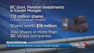 B.C. government pension fund invests in Kinder Morgan