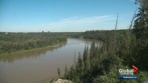 Edmonton river valley lookout Keillor Point officially open