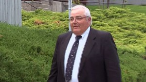 Winston Blackmore and James Oler arrive to court for polygamy sentencing