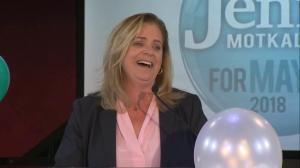 Jenny Motkaluk expresses gratitude to those who helped along the way