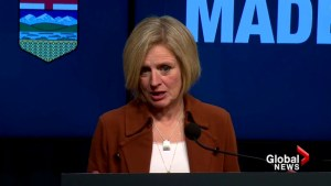 Alberta Premier Rachel Notley says she will 'hold the federal government's feet to the fire' on Trans Mountain expansion