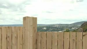 New fence at Signal Hill blocks view, causes controversy