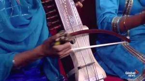 Playing the Sarangi and the Dhad