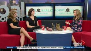 Edmonton shoe maker Poppy Barley opens store at Southgate Centre
