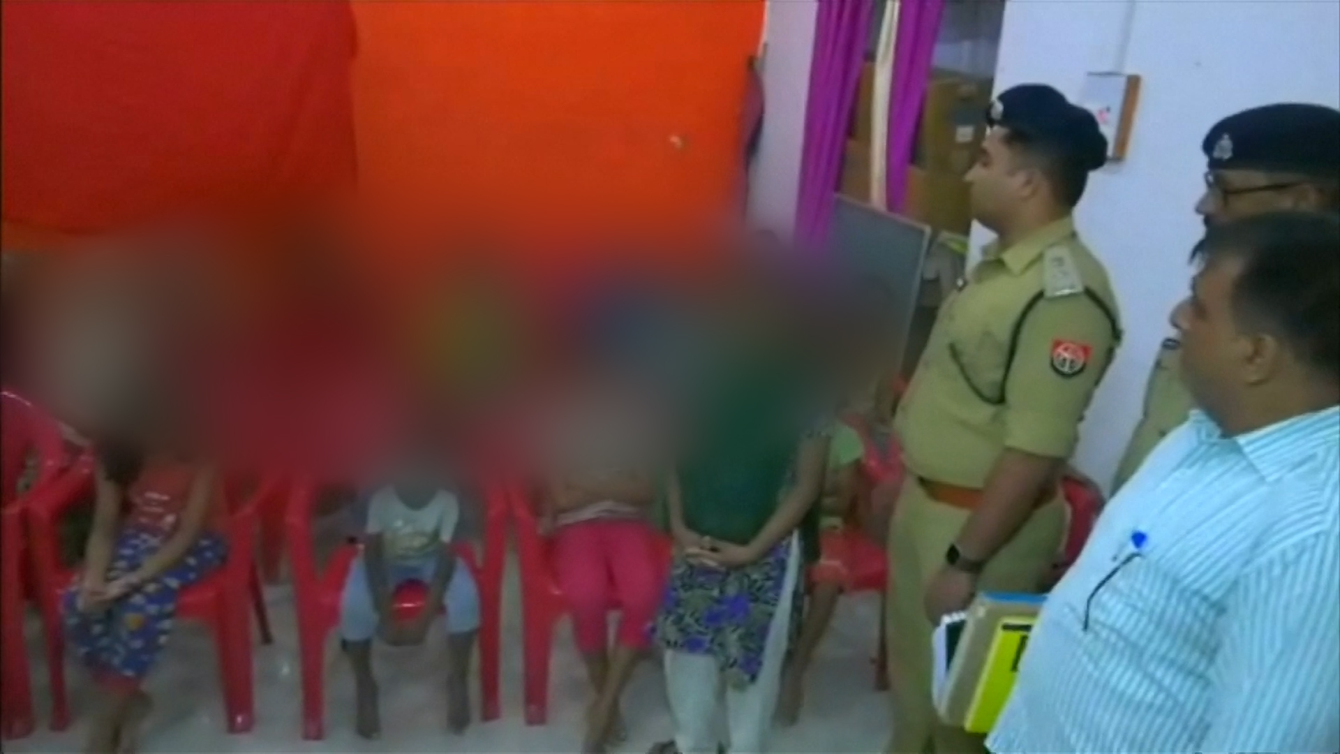 Indian police rescue 24 girls after they say they were forced into the sex trade