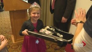 Musical dream come true for girl battling cancer