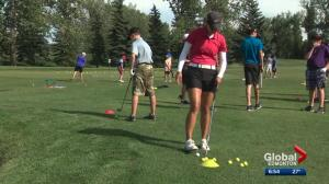 Why is the Derrick Golf Club so important for golf in Alberta?