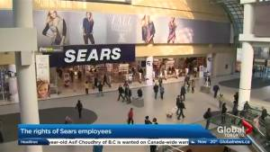 What rights do Sears employees have?