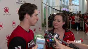 Scott Moir says 'everything' was different in Pyeongchang Olympics