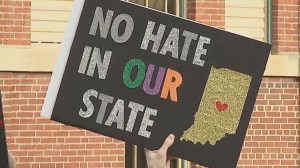 Indianapolis protests against Religious Freedom Restoration Act