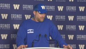 RAW: Blue Bombers Mike O'Shea Media Briefing – Sept. 19