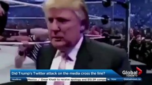 Did Donald Trump encourage violence against journalists?