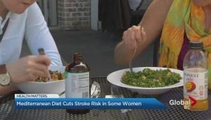 Mediterranean diet can cut stroke risk in some women