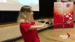 Paralympic teen shares personal journey with Moncton students