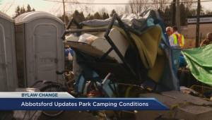 Abbotsford amends bylaw on homeless campers