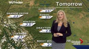 Edmonton Weather Forecast: July 22