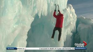 Legendary ice climber sets his sights on Edmonton's Ice Castles
