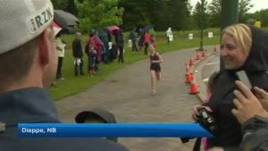 Rain doesn't damper Kids of Steel Marathon
