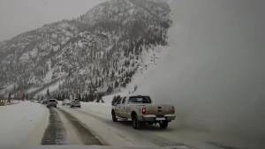 Dash cam video shows Colorado man getting engulfed by oncoming avalanche