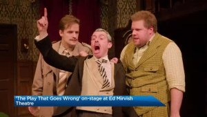 'The Play That Goes Wrong' on-stage at Ed Mirvish Theatre