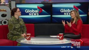 Military member on Operation Honour sexual assault team