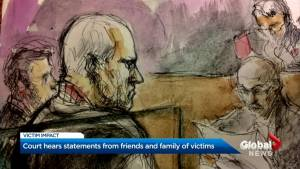 Families and friends of Bruce McArthur's victims face him in court