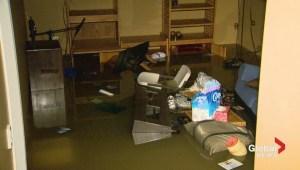 Burlington hit with flooding after heavy rain