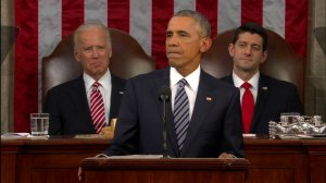 US President Barack Obama delivers last State of the Union speech