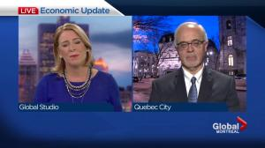 Quebec Finance Minister Carlos Leitao explains tax cuts